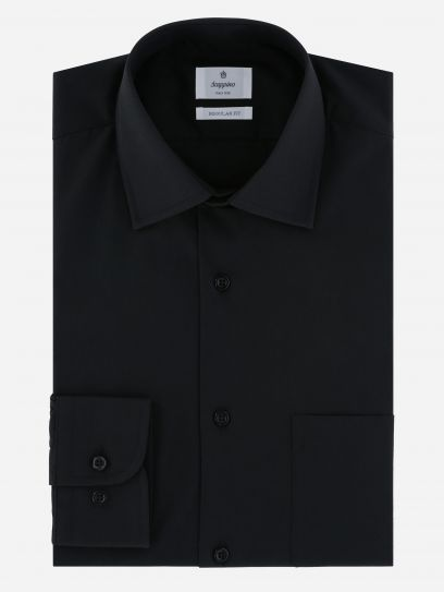 Camisa de Vestir Negra