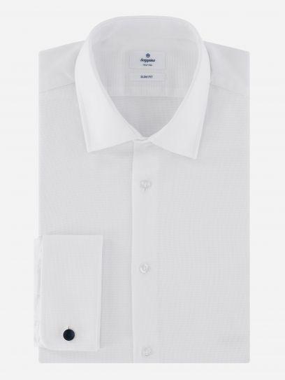 Camisa de Vestir con Puno frances