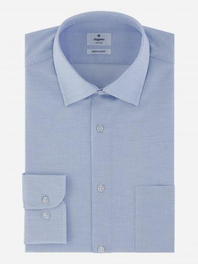 Camisa de Vestir en tejido maquinilla