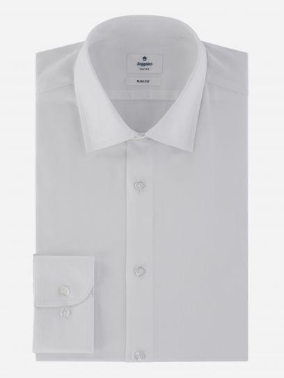 Camisa Vestir Blanca Stretch