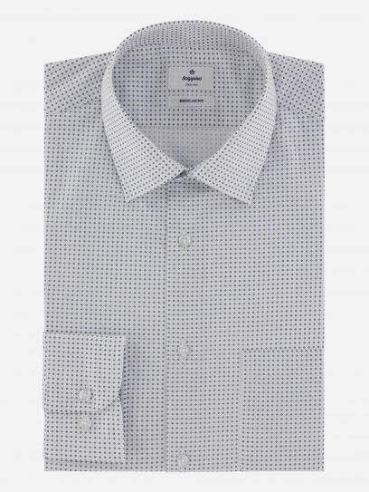 Camisa de Vestir Micro Print