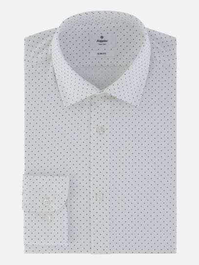 Camisa de Puntos Business Casual