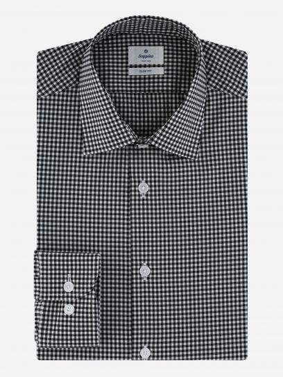 Camisa de Vestir de Cuadros Vichy Performance