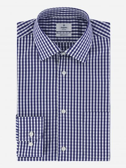 Camisa Vichy Business Casual