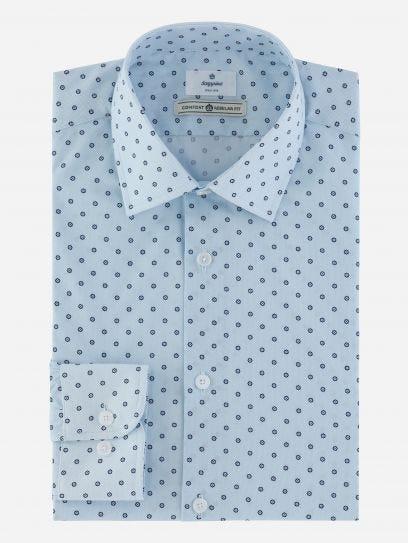Camisa de Vestir Estampada