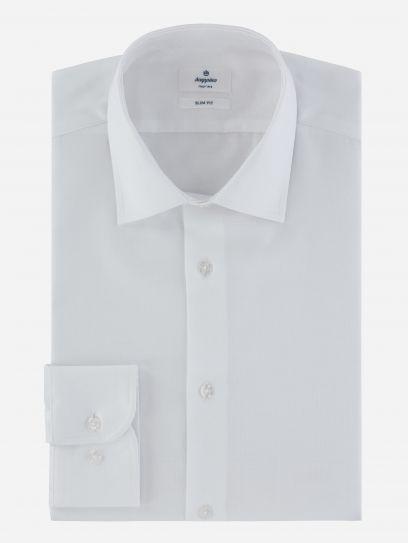 Camisa de Vestir Dobby Blanca