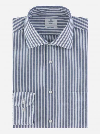 Camisa de Rayas Maquinilla Stretch