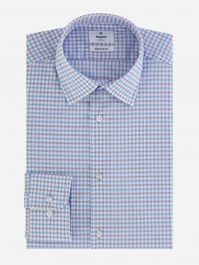 Camisa de Vestir de Cuadros