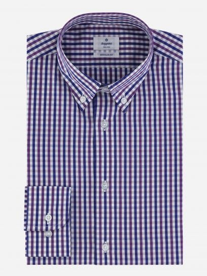 Camisa Business Casual de Cuadros