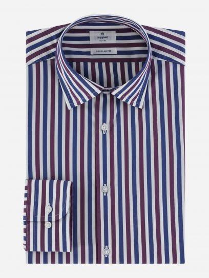 Camisa Business Casual de Rayas