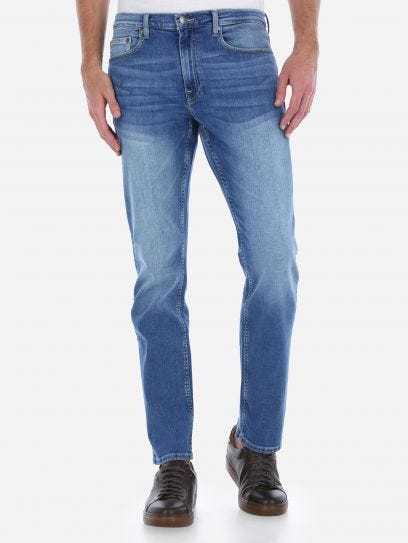Jeans Slim Fit Azul Oscuro