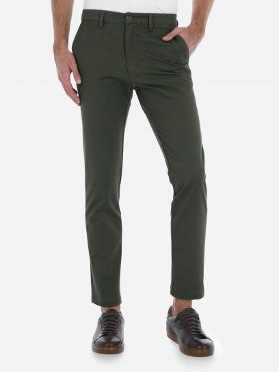 Pantalon Chino Straight Fit